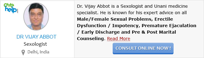 Dr. Vijay Abbot - Sexologist at OyeHelp.com